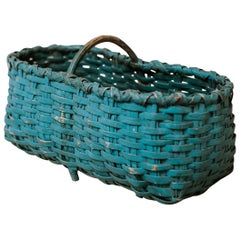 Early 20th Century Wicker Basket