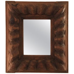 Early 20th Century Wood Frame Mirror