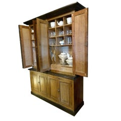 Early 20th Century Wooden Antique Patina Spanish Cabinet