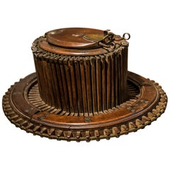 Early 20th Century Wooden Hat Sizer