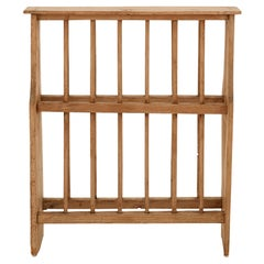 Early 20th Century Wooden Plate Rack