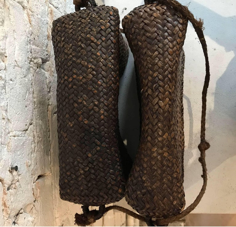 Early 20th Century Woven Thai Basket For Sale 3