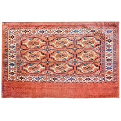 Early 20th Century Yamut Rug