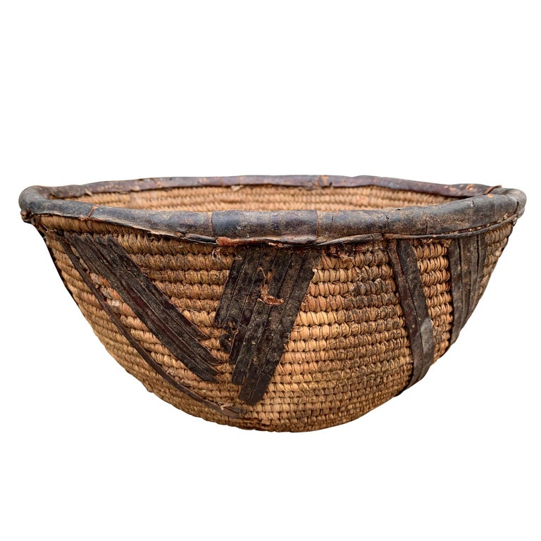 Early 20th Century Yoruba Basket For Sale