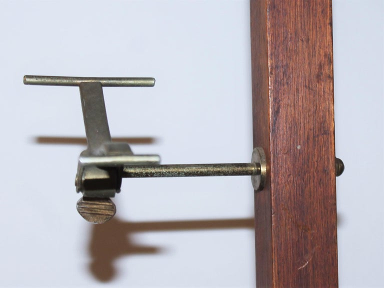 19thc hat rack from a store front or haberdashery with all original hardware. The condition is very good and sturdy.