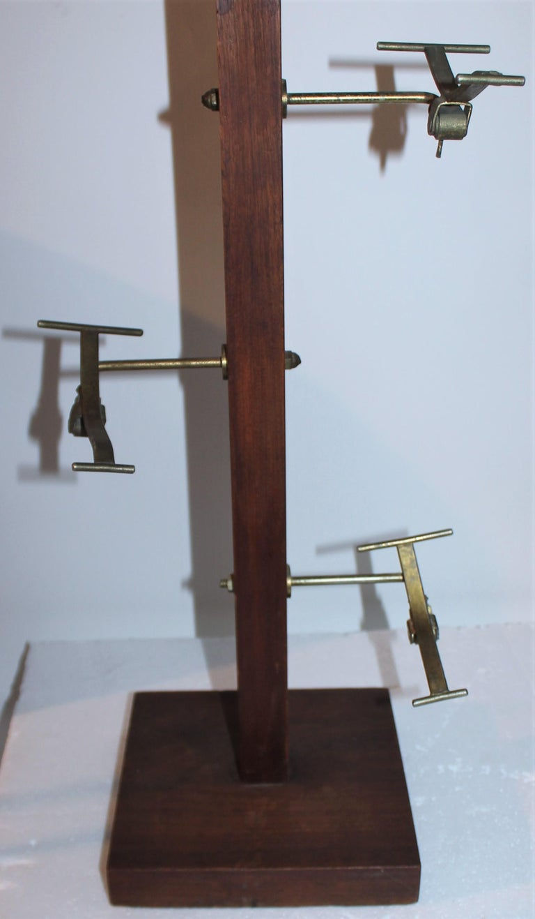 American Early 20thc Hat Rack from a Haberdashery For Sale