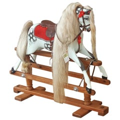 Early 20th Century Lines of London Rocking Horse