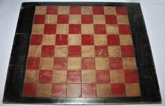 Early 20Thc Original Painted Game Board