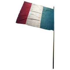 Early 20thC Tricolore French Flag