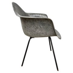 Early 2nd Generation X Base Arm Shell Lounge Chair by Charles Eames