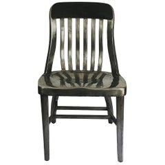Early Aluminum Chair by General Fireproofing
