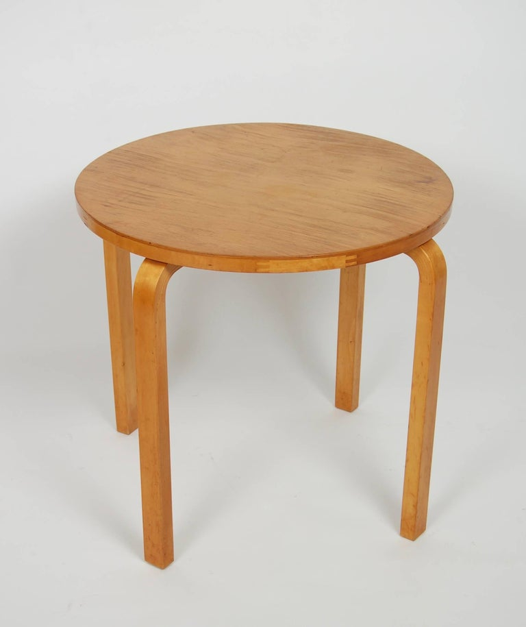Early Alvar Aalto Side Table by Finmar For Sale 1