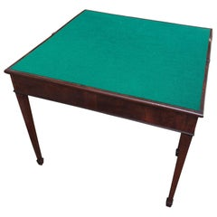 Early American 19th Century Game or Card Table