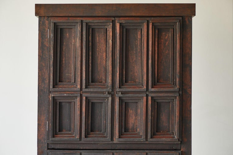 20th Century Early American Arts & Crafts Cabinet