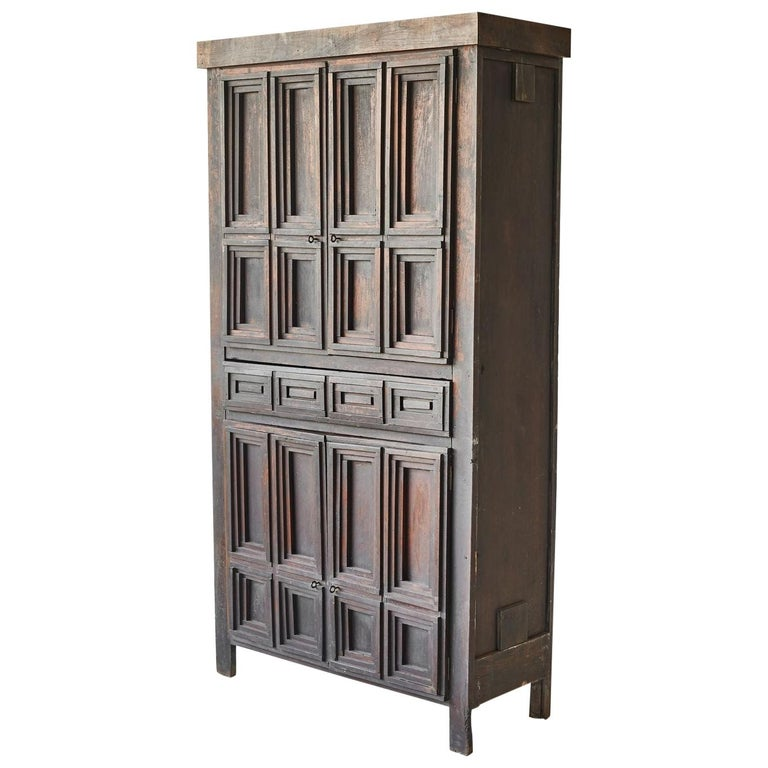 Early American Arts & Crafts Cabinet