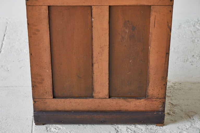 Wood Early American Grain Bin For Sale