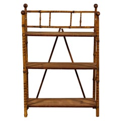 Early American Petite Bamboo Shelf