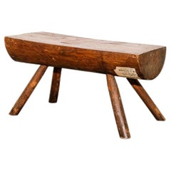 Early American Primitive Footstool