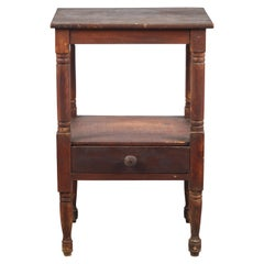 Early American Rustic Side Table
