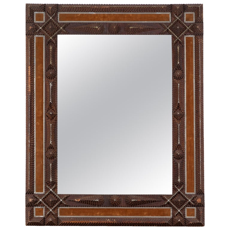 Early American Tramp Mirror For Sale