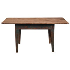Early American Wooden Dining Table