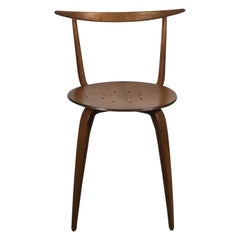 Early and Rare George Nelson Pretzel Chair, 1952 Sculpture
