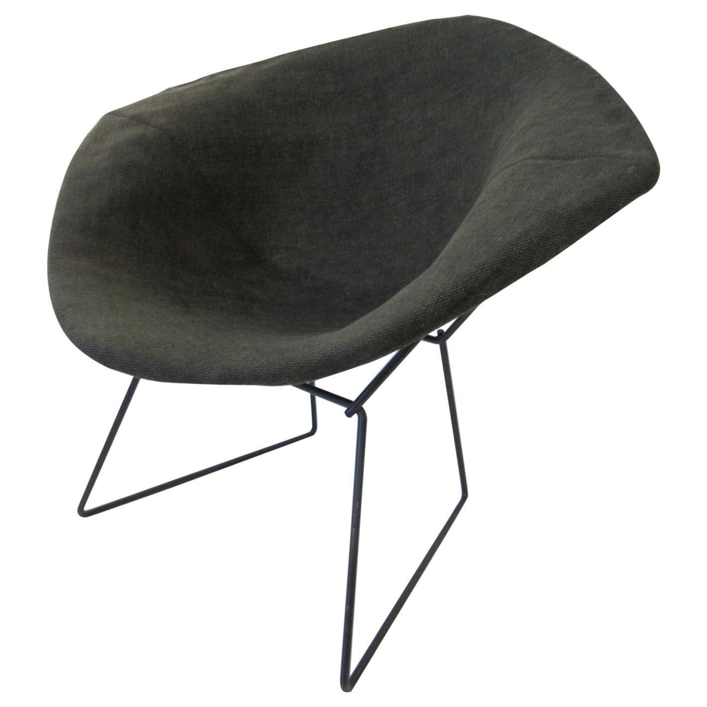 Early and Rare 'Pre-Production' Harry Bertoia Small Diamond Chair for Knoll