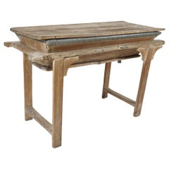 Early Asian Dry Sink or Planting Table