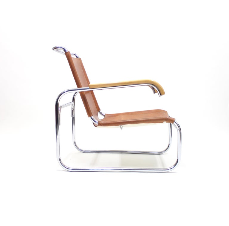 Mid-20th Century Early B35 Chair by Marcel Breuer for Thonet, 1930s For Sale