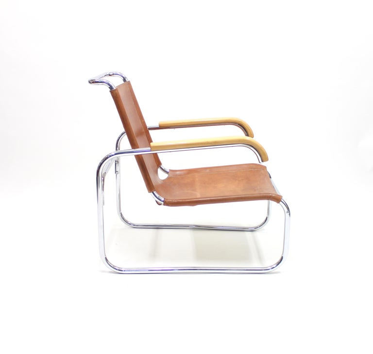 Steel Early B35 Chair by Marcel Breuer for Thonet, 1930s For Sale