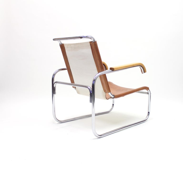 Early B35 Chair by Marcel Breuer for Thonet, 1930s For Sale 1