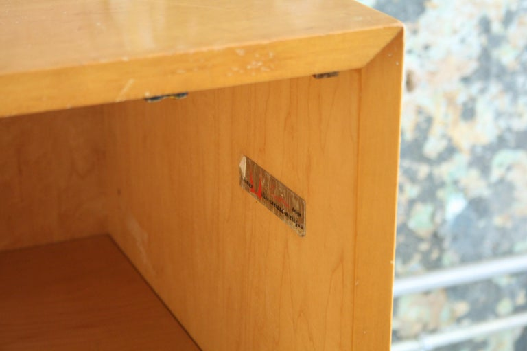 Mahogany Early BCS Cabinet by George Nelson for Herman Miller For Sale