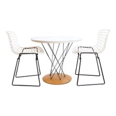 Early Bertoia for Knoll Childs Table and Chair Set