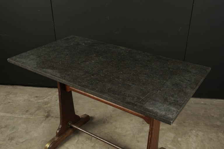 European Vintage Bistro Table from France, 1950s For Sale