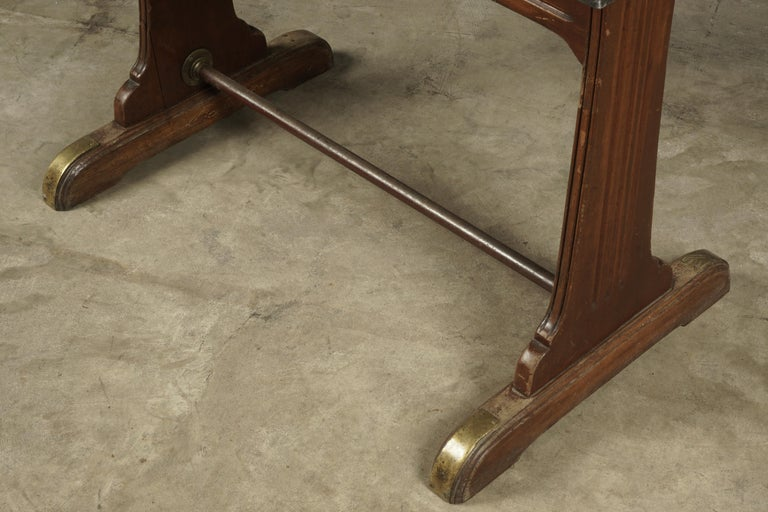 Vintage Bistro Table from France, 1950s In Good Condition For Sale In Nashville, TN
