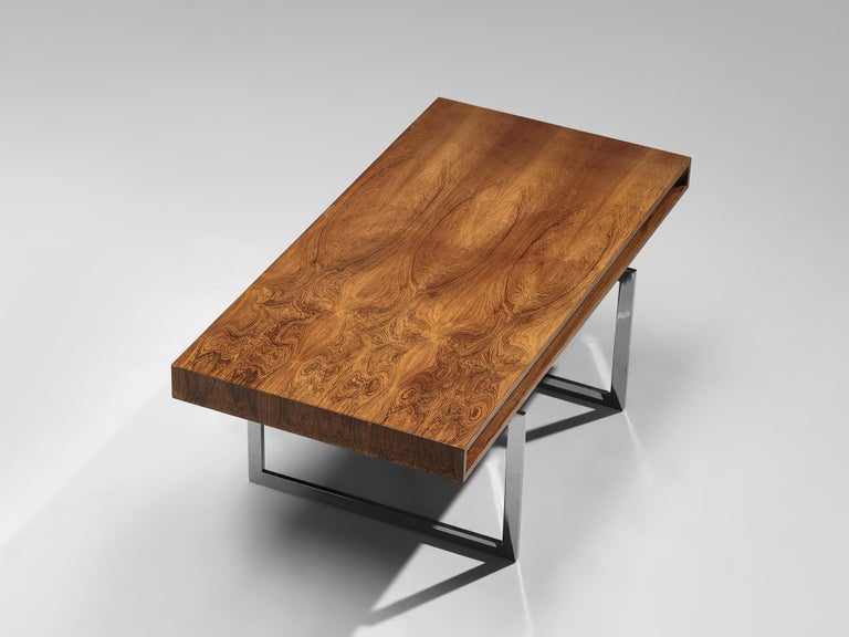 Mid-20th Century Early Bodil Kjaer Executive Writing Table For Sale