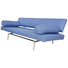 "Early ""BR02"" Sofa or Daybed by Martin Visser for 't Spectrum, Dutch Design, 1958"