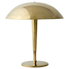 Early Brass table Lamp #5061 by Paavo Tynell for Taito Oy, Finland, 1940s