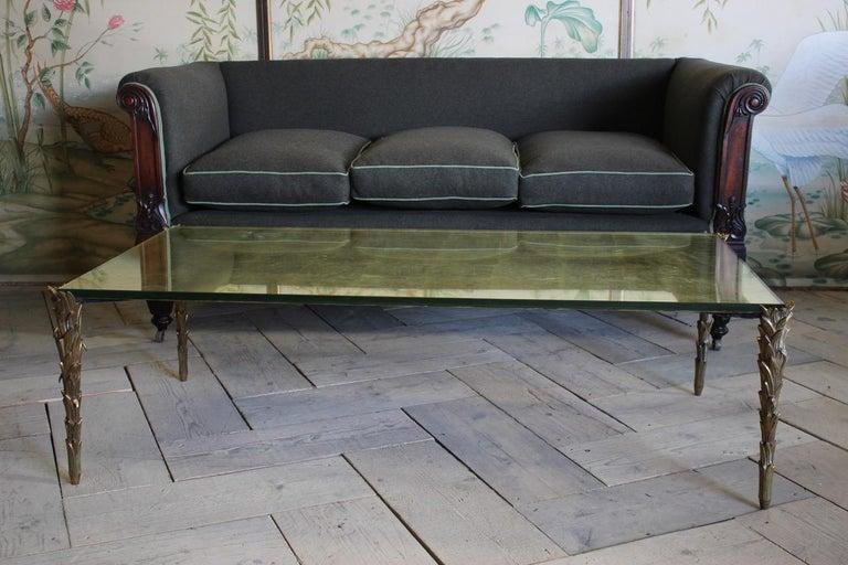 Early 19th Century English Mahogany Sofa For Sale 3