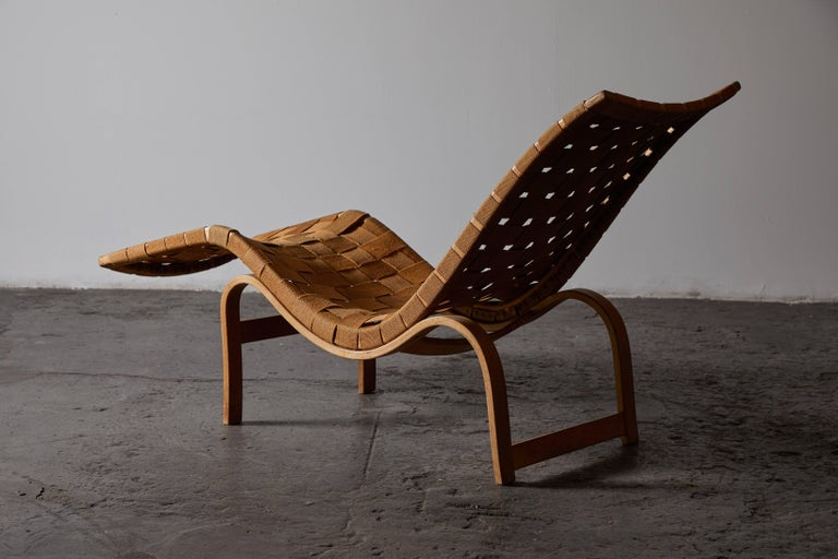 Early Chaise Lounge by Bruno Mathsson For Sale 2