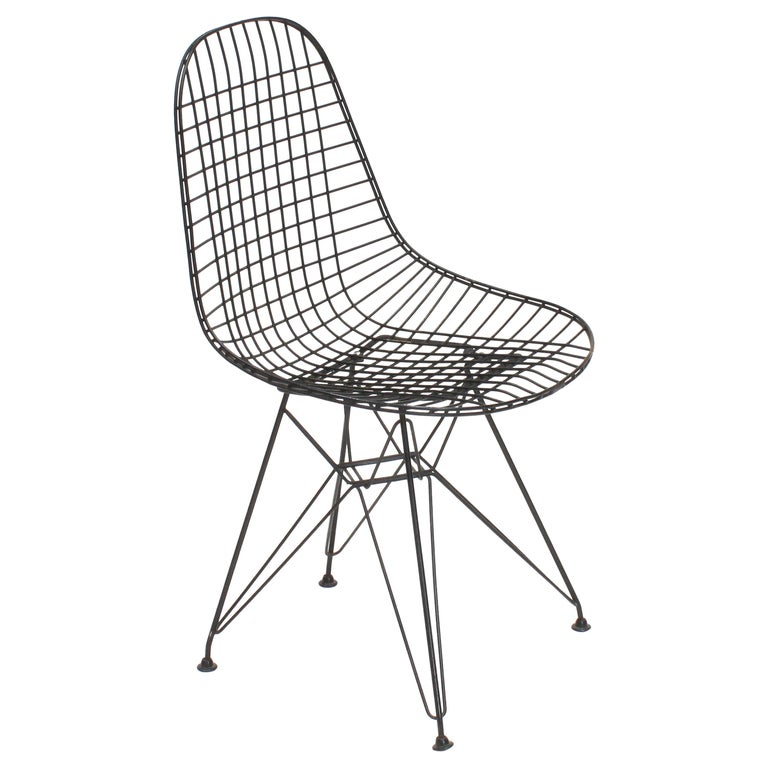 Early Charles and Ray Eames DKR Chair, Eiffel base
