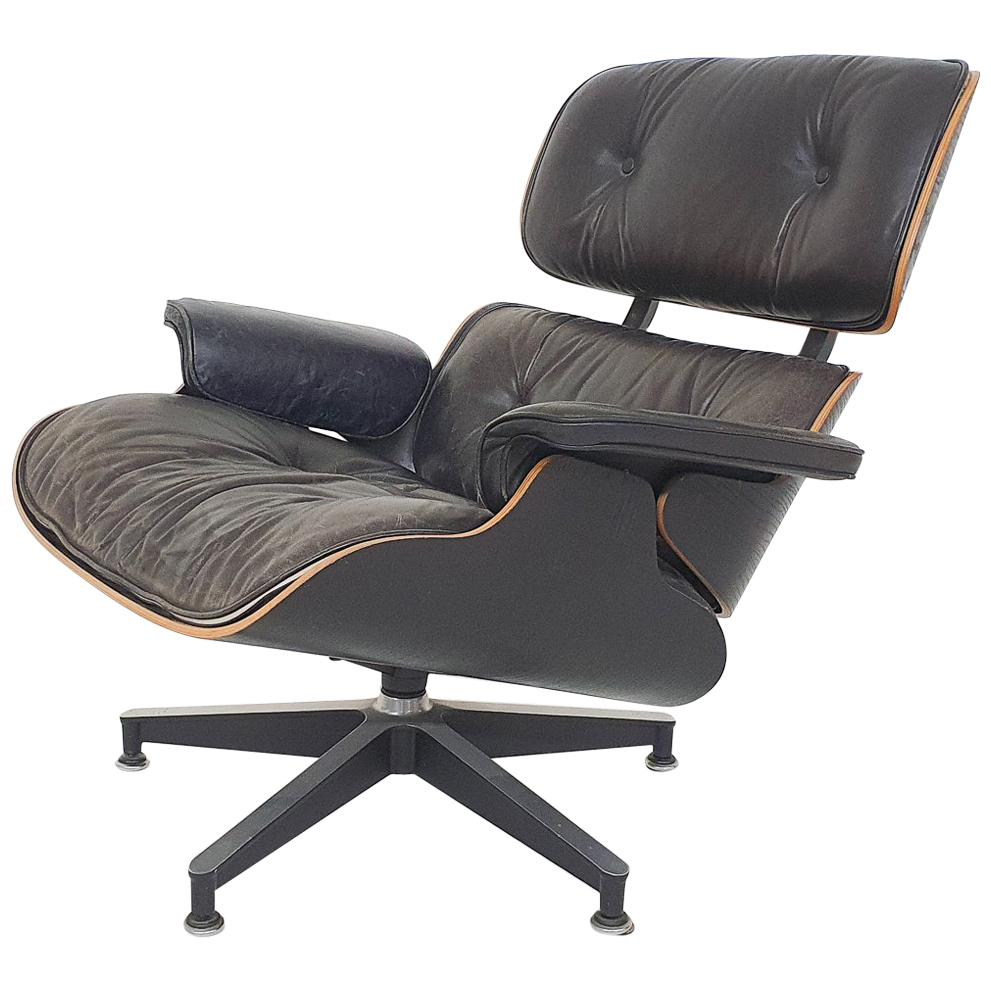 """1971 Charles and Ray Eames Lounge Chair """"Model 670"""" for Herman Miller, 3rd Gen"""