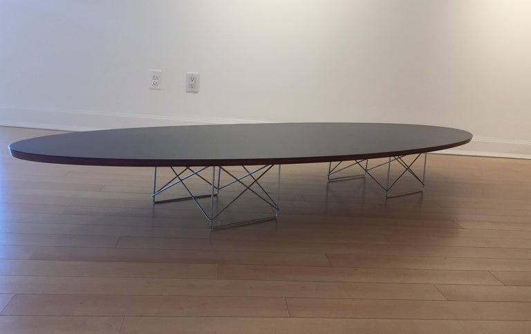 Mid-Century Modern Early Charles and Ray Eames Surfboard Table For Sale