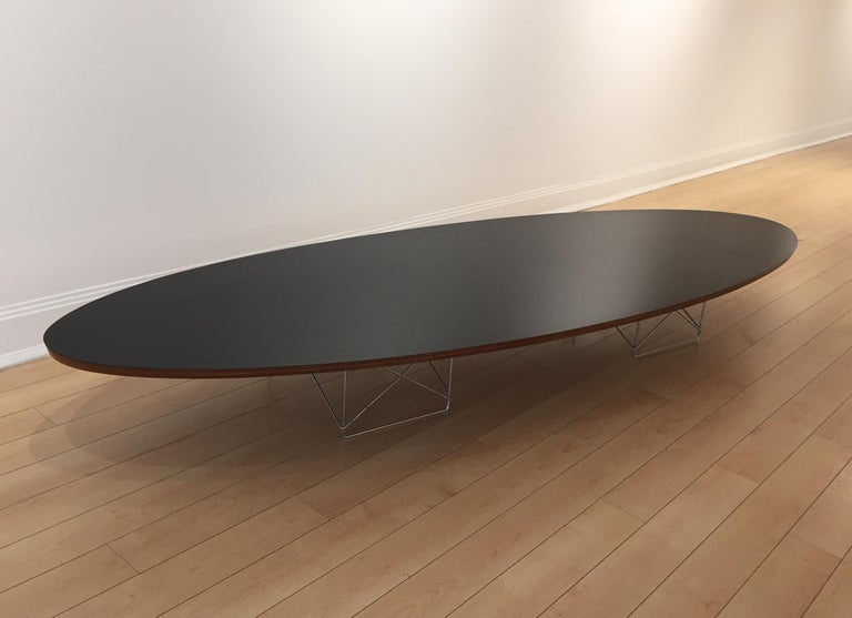 American Early Charles and Ray Eames Surfboard Table For Sale