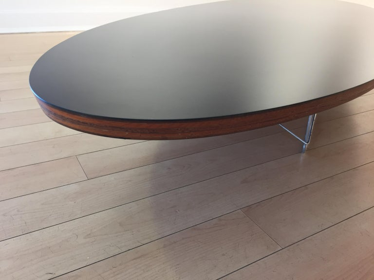 20th Century Early Charles and Ray Eames Surfboard Table For Sale