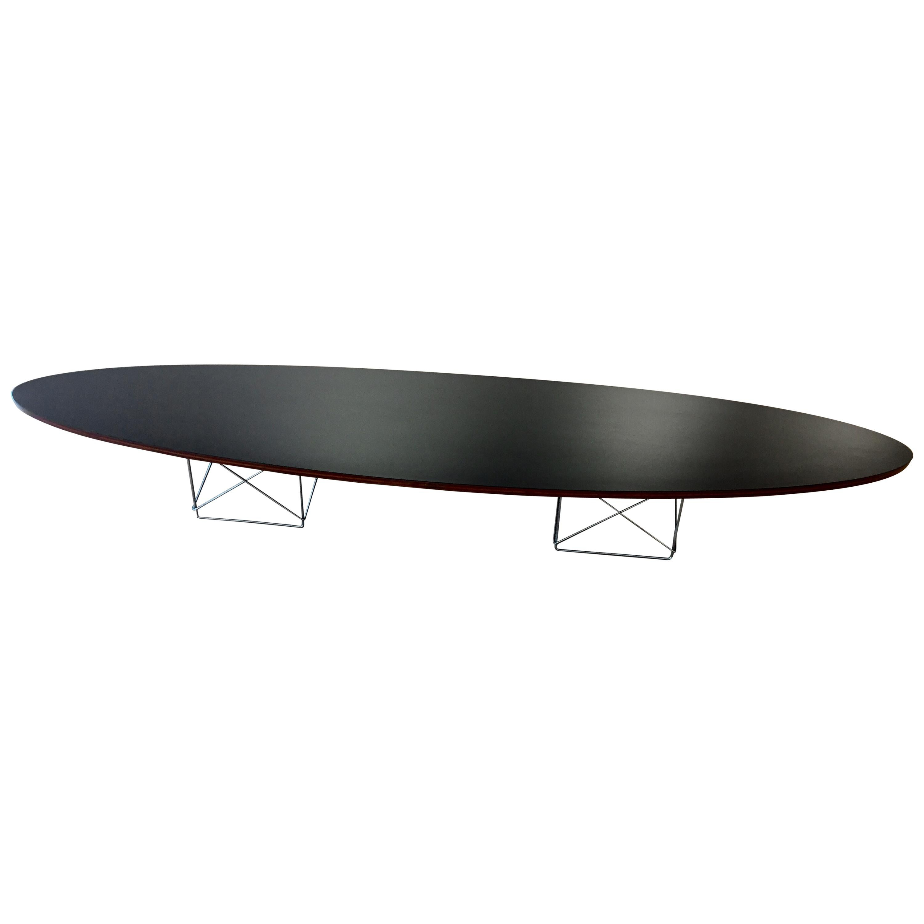 Eames Surfboard Coffee Table.Early Charles And Ray Eames Surfboard Table