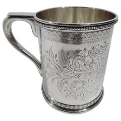 Early Classical Sterling Silver Baby Cup by Tiffany at 550 Broadway