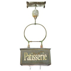 Early Converted Gravity-Fed Hanging Patisserie Advertising Chandelier