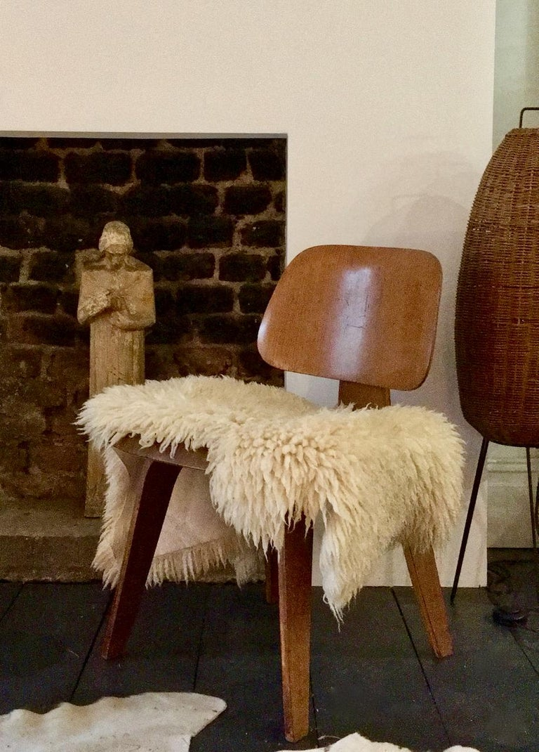 Early DCW Bent Plywood Chair by Charles Eames for Evans, 1940s For Sale 6