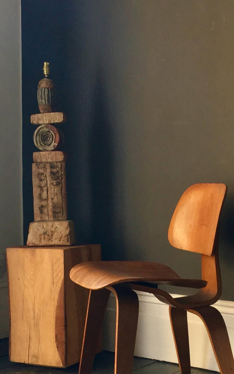 Early DCW Bent Plywood Chair by Charles Eames for Evans, 1940s For Sale 7